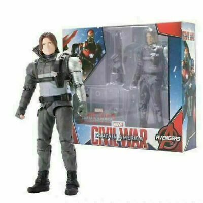 £14.69 • Buy Bucky Barnes Marvel Infinity Avengers Collection Action Figures Model Play Toys
