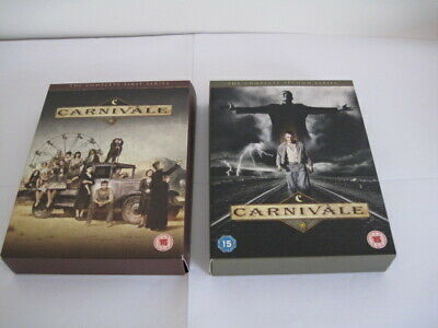 Carnivale Complete Series 1 & 2 Box Sets • 11.99£