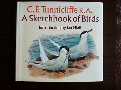 A SKETCHBOOK OF BIRDS By C.F. TUNNICLIFFE. 1979 1st EDITION • 5£