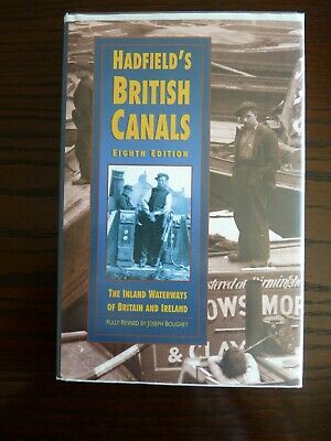 Hadfield's British Canals. Fine 1998 Hardback Edition • 2.50£