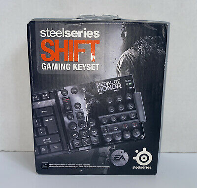 £16.53 • Buy SteelSeries 68115 Shift Medal Of Honor Keyset For Shift And Zboard Keyboard