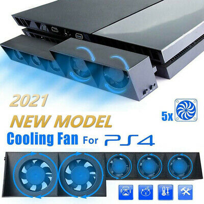 AU18.89 • Buy For PS4 PlayStation 4 Console Host Cooling Fan Cooler Game External Accessories