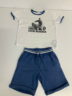 £47 • Buy Dolce & Gabbana D&G Outfit Ste Shorts Age 5 Years  & T Shirts Age 4 Years VGC