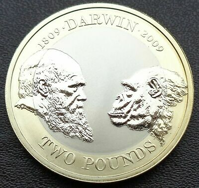 £23.95 • Buy 2009 £2 TWO POUND Proof Coin Charles Darwin