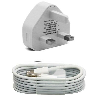 £2.47 • Buy 100% Genuine CE Charger Plug & USB Cable For Apple IPhone X 8 7 6 6+ SE(2020) XS