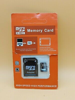 AU11.96 • Buy 8GB Micro SD Card TF Flash Memory MicroSD Micro SDHC Class 10 With Adapter