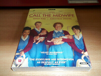 Call The Midwife Series Nine & Christmas Special 2020 Brand New - Region 2 DVD • 3£