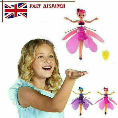 £6.89 • Buy New Flying Fairy Princess Dolls Magic Infrared Induction Control Toy Child Gift