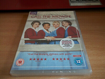 Call The Midwife Series Seven & Christmas  3 Disc  - Jenny Agutte - Region 2 DVD • 4.50£
