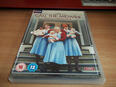 Call The Midwife Series Six  & Christmas  3 Disc  - Jenny Agutte - Region 2 DVD • 3.75£
