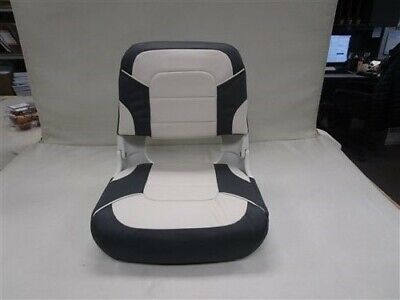 $ CDN72.51 • Buy Classic High Back All Weather Folding Boat Seat 75140wc White / Charcoal Marine