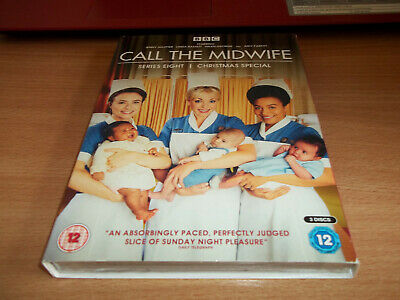 Call The Midwife Series Eight & Christmas Special  Jelly Agutter - Region 2 DVD • 4.75£