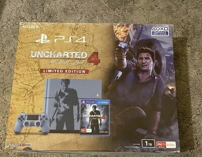 AU350 • Buy Uncharted Limited Edition Ps4 Console 1TB PlayStation