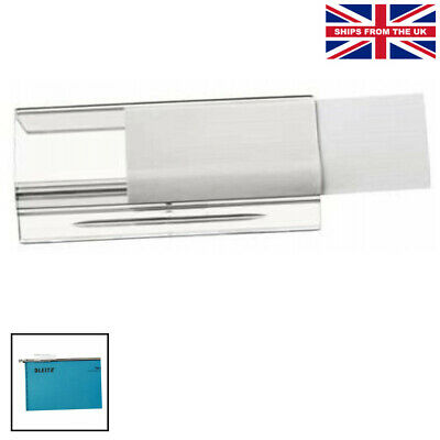 £10.99 • Buy Leitz Ultimate Suspension File Label Holders, Pack Of 25, Clear, .... Compatible