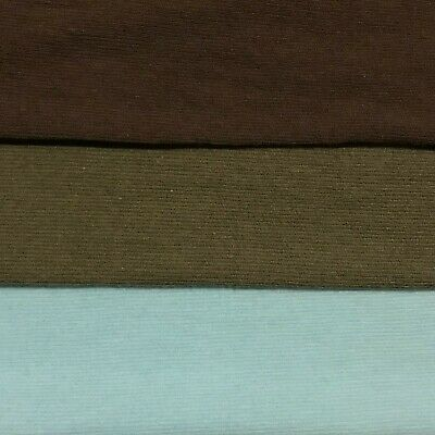 £2.99 • Buy Cotton Lycra Jersey Fabric Thin 4-Way Stretch 43  Wide Sold By The Metre