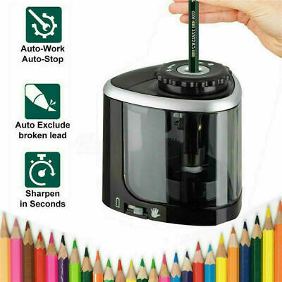£5.99 • Buy Electric Pencil Sharpener Automatic Touch Switch Battery Power Office Classroom