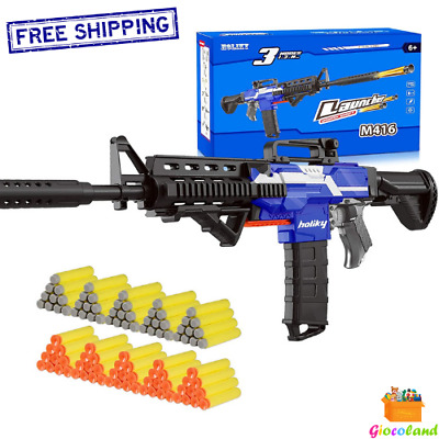 $73.99 • Buy Electric Automatic Toy Guns For Nerf Guns Bullets 3 Modes Burst Soft Blaster New