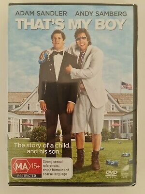 AU9.95 • Buy That's My Boy. Adam Sandler. Brand New & Sealed DVD. Region 4 PAL. Free Postage!