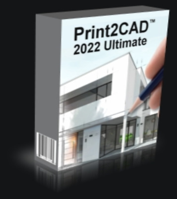 Print2CAD Ultimate 2022 V22.24 Multilingual ✔️ FULL Version ✔️ LIFETIME✔️For Win • 11.95£