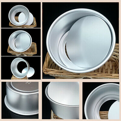 AU13.29 • Buy 4/5/6/8/9/10inch Cake Mold DIY Round Bread Pastry-Moulds Baking Tin Pan-Reusable
