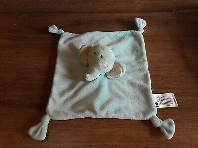 £9.99 • Buy Mothercare Baby Comforter. Blue. Elephant Style. Good Condition.