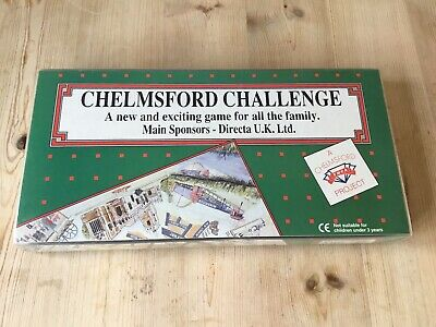 £19.99 • Buy Chelmsford Challenge YMCA Vintage Board Game 90s Rare Monopoly Style Complete