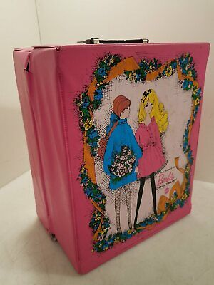 $ CDN12.08 • Buy Vintage 1968 Pink Barbie Doll Trunk For Barbie & Her Friends Mattel