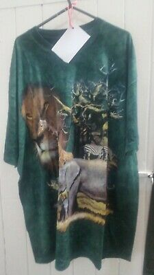 £15.99 • Buy REDUCED Vintage The Mountain African Animal T Shirt Size XL BNWOT B244
