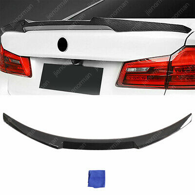 $77.83 • Buy Carbon Fiber Look Rear Spoiler Trunk Wing M4 Style For BMW 3 Series M3 E90 06-11