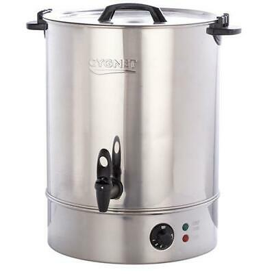 £86.99 • Buy Cygnet Boiler CATERING Large 30L Litre Hot Water Tea Urn - Stainless Steel NEW