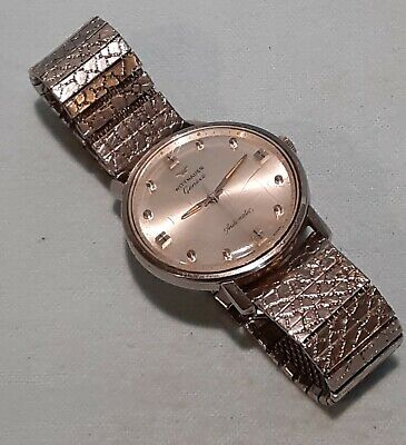 AU10.30 • Buy Vintage Wittnauer Geneve Wrist Watch Automatic, Runs, Stainless Steel