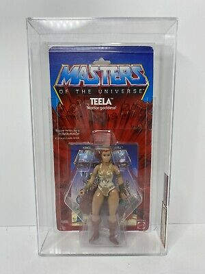 $265 • Buy MOTU TEELA 8 BACK AFA 75 Clear Bubble Masters Of The Universe NO RESERVE