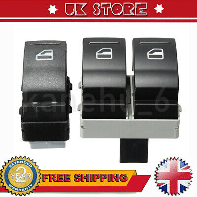 £9.79 • Buy Electric Window Switch Front Left&Right Kit For VW Transporter T5 6 7E0959855 A