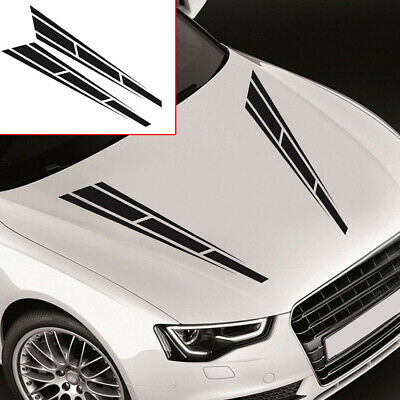 AU6.70 • Buy Racing Stripes Auto Car Sticker Car Front Hood Decal Car Universal Accessories