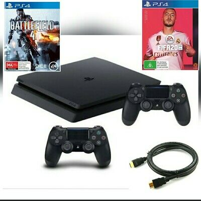 AU250 • Buy Sony PlayStation 4 Ps4 500gb Console 2 Games + 2 Wireless Controllers