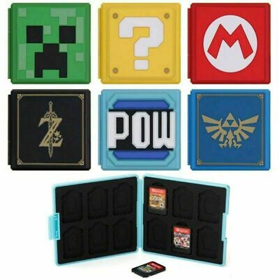 AU13.99 • Buy Portable Game Card Case Cover Storage Box Holder Organizer For Nintendo Switch
