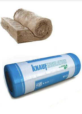 £17.50 • Buy Knauf Loft Insulation 100mm 150mm 200mm Each Pack Covers 5.93