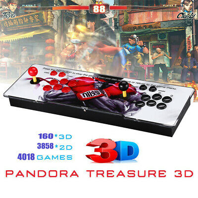 AU260.39 • Buy 4018 In 1 Pandora-s Box Funny Video Games 4 Players Arcade Console For Adults