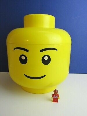 £18.05 • Buy Large Official LEGO YELLOW STORAGE HEAD BOX TUB CONTAINER Genuine BOY 0999