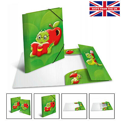 £8.99 • Buy HERMA Elastic Folder Kids With Fritz The Worm Motif, A4, Sturdy Plastic, With...