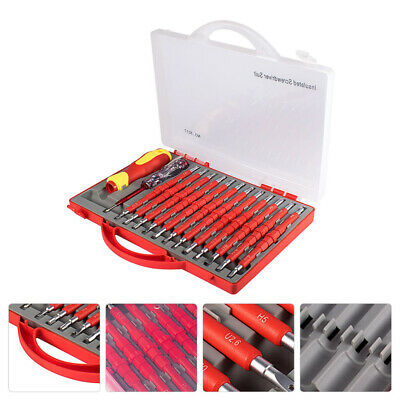 £15.19 • Buy 26Pcs Electricians Hand Screwdriver Set Tool Electrical Fully Insulated Kit UK