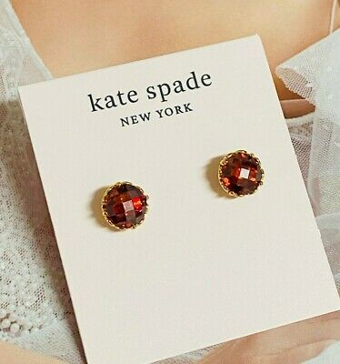 $ CDN8.45 • Buy Kate Spade Red Crystal Earring