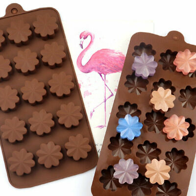 £2.95 • Buy Daisy Flowers Silicone Cake Mould Candle Mold Wax Melts Ice Tray Chocolate Candy