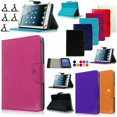 AU18.39 • Buy Universal Leather Flip Tablet Case Sleep Protective Case For 7/8/10 Inch Tablet