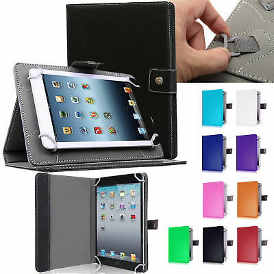 AU18.39 • Buy Universal Leather Flip Tablet Case Cover Protective Case For 7/8/10 Inch Tablet