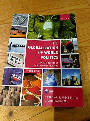 £10 • Buy The Globalization Of World Politics: An Introduction To International Relations