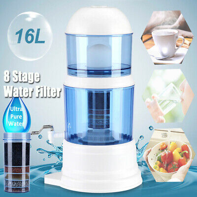 £29.20 • Buy Water Purifier Ceramic Carbon Mineral Purify Filter Dispenser Filtration