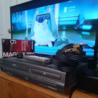 $ CDN482.47 • Buy Magnavox MWD2205 DVD Player And 4 Head Hi-Fi Stereo VCR With Line-in Recording