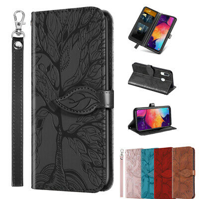 AU9.99 • Buy Wallet Case For Samsung Galaxy S21 Plus Ultra S9 A21 A31 Flip Leather Card Cover