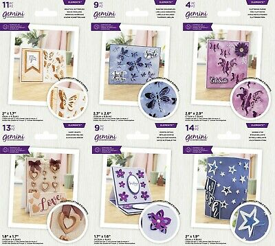 £7.50 • Buy *NEW 2021* Gemini Create A Card Liftable Dies By Crafters Companion